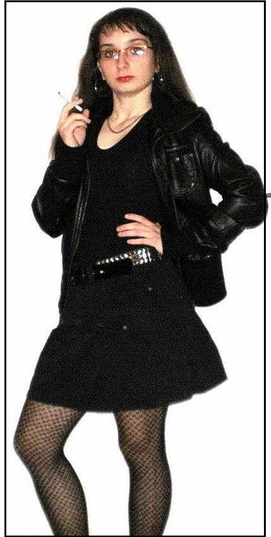 Kateřina Peclová jako drsná rockerka.