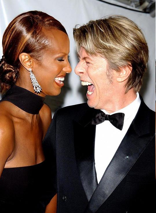Iman si vzala Davida Bowieho v roce 1992 a jejich manželství trvalo až do jeho smrti v roce 2016.