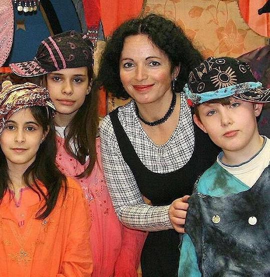 Vida Skalská se věnuje práci s dětmi.