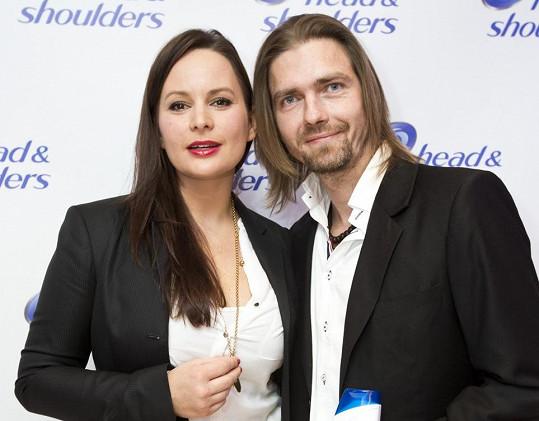 Jitka s manželem Petrem Čadkem