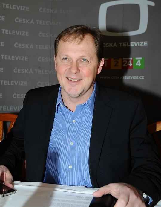 Ředitel České televize Petr Dvořák.