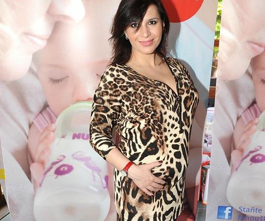 Andrea Kalivodová ještě miminko nemá, ale akce Kočárkem Prahou se zúčastnila.