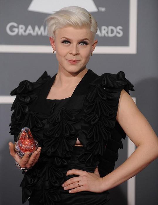 Takhle vypadala Robyn na cenách Grammy v roce 2009, kdy svou první nominaci neproměnila. Od té doby si vysloužila ještě další čtyři, ale zatím vždy odcházela bez gramofonku.