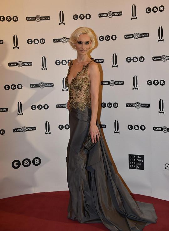 Modely od slovenské designérky Pištějové často obléká i Andrea Verešová.