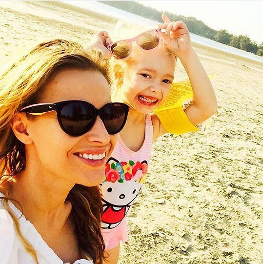 Petra Svoboda s dcerou Rachel si užívá dovolenou v Thajsku.