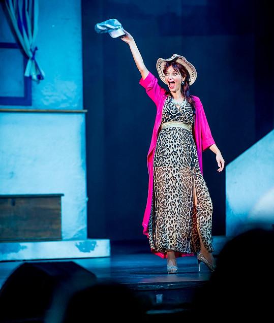 Adéla Gondíková v muzikálu Mamma Mia!