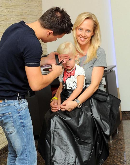 Zuzana Belohorcová s dcerou odlétá na rok do Ameriky.