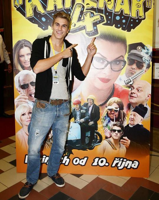 David Gránský na premiéře filmu.