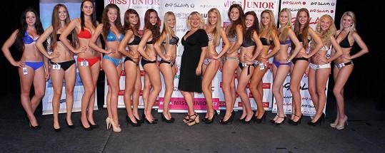 Miluška je ředitelkou soutěže Miss Junior.