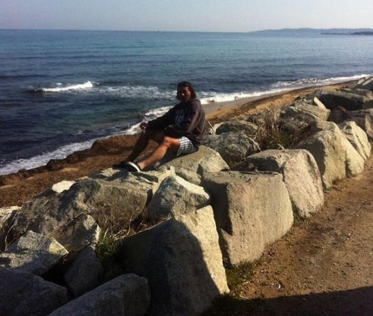 Manželé se zastavili i u Azurového pobřeží.
