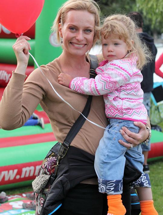 Kristina s dcerou Jamínkou