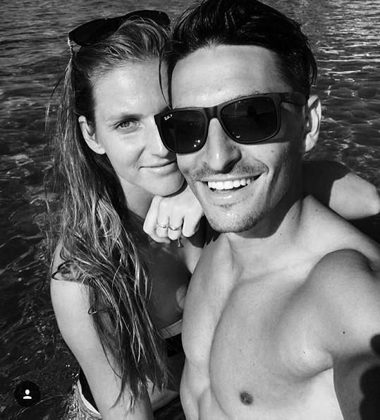 Karolína Plíšková chodí s Michalem Hrdličkou už víc jak rok a půl.