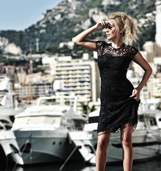 Michaela Ochotská fotila v Monte Carlu.