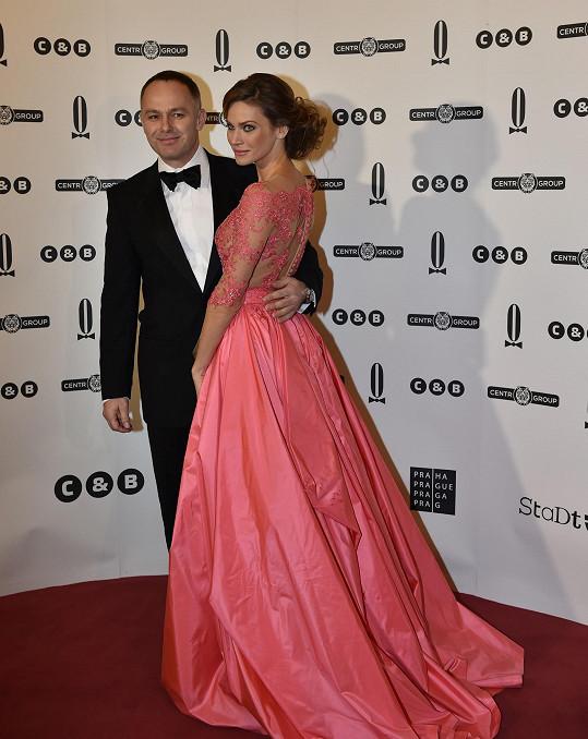 Andrea s manželem Danielem Volopichem jsou pohádkový pár.