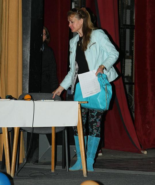 Júlia Hečková po letech na veřejnosti