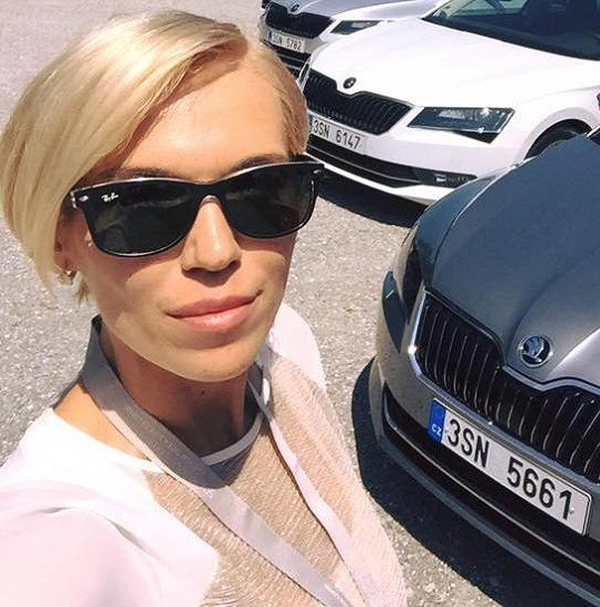 Hana testovala v Německu nový vůz.