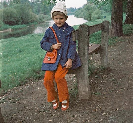 Leona Machálková v dětství