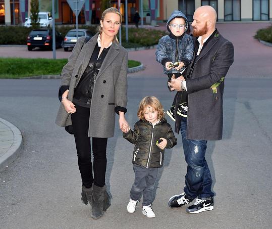 Rodinka na jižní Moravě strávila celý víkend.