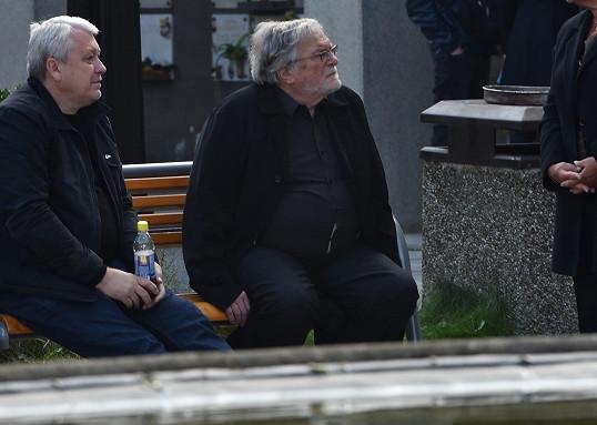 Jan Kačer (vpravo)
