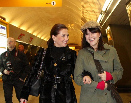 Dana Morávková si s Martou Jandovou rozumějí.