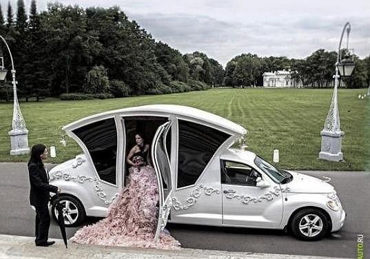 Tohle je sen každé (ruské) nevěsty.