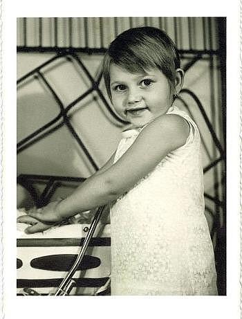 Ilona Csáková byla rozkošné dítko.