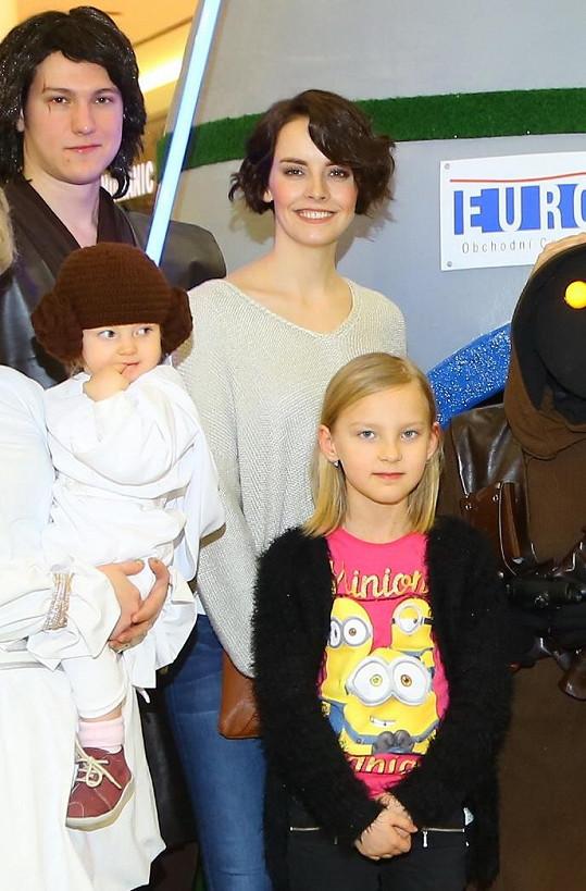 S dcerou Romany Jákl Vítové, která jí dělala parťačku.