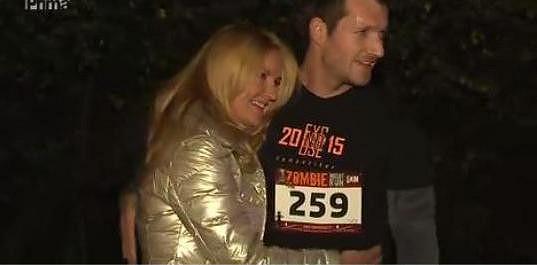 Vendula chválí manžela, který skončil na dvanáctém místě.