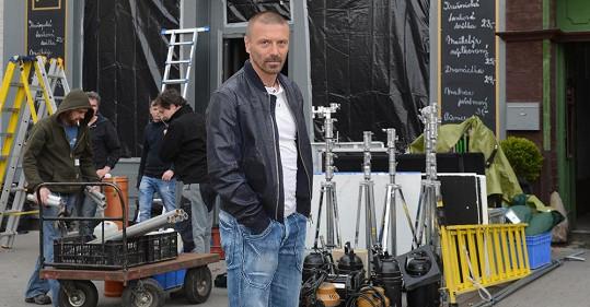 Tomáš natáčel v Rakovníku.