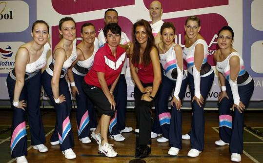Jitka Válková musela opustit tým, se kterým dlouhé měsíce trénovala.