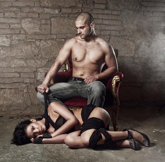 Urostlého modela Libora Adéla poznala pár dnů před focením v baru.