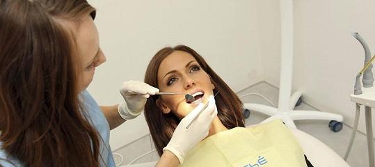 Bučková na ústní hygieně.
