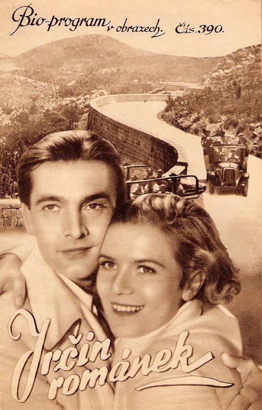 S Rolfem Wankou si Jiřina Steimarová zahrála hlavní roli ve filmu Irčin románek (1936).
