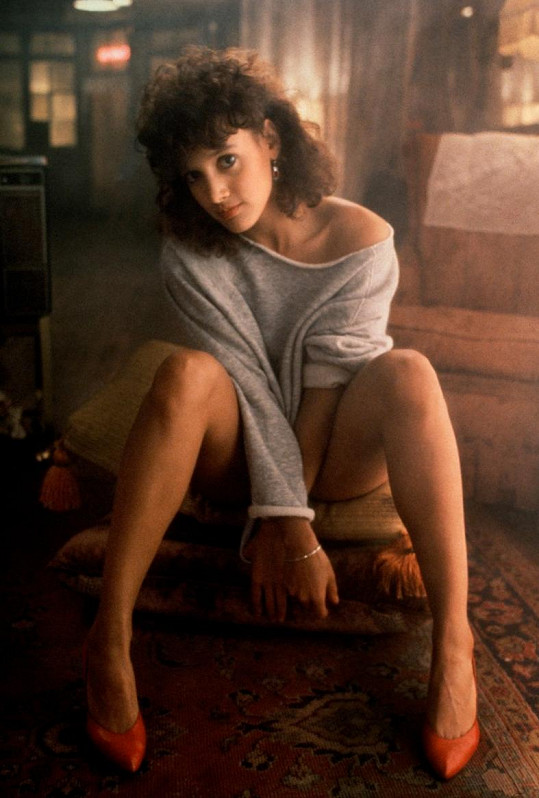 Jennifer Beals ve svém nejslavnějším filmu Flashdance z roku 1983