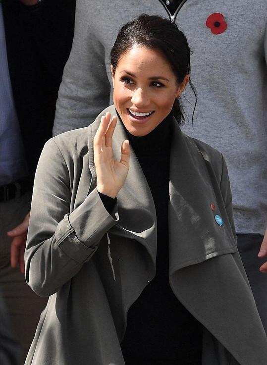 Vévodkyně ze Sussexu se na jaře stane maminkou.
