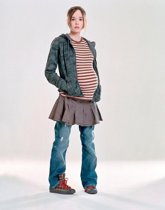 Ellen Page ve filmu Juno (2007)
