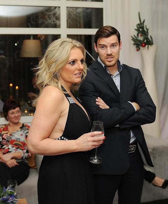 Kateřina Šlégrová s novým milencem Michalem.