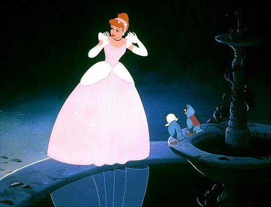 Popelka v animovaném filmu od Disneyho