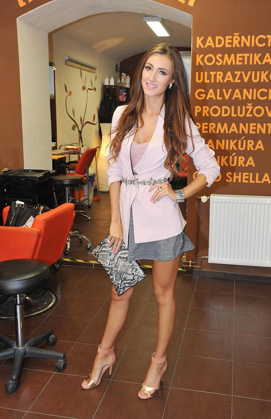 Modelka je prý parádivá, protože je původem z Ukrajiny.