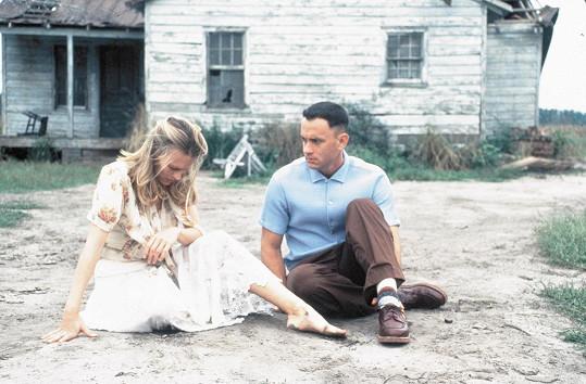 Robin jako Jenny s Tomem Hanksem ve Forrestu Gumpovi