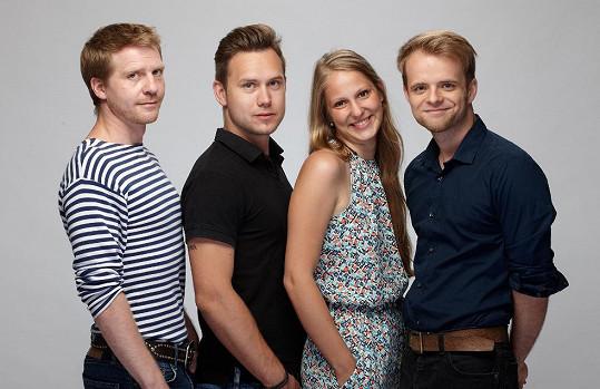 Kromě Pavla Baťka v představení Salome uvidíte Barboru Plachou, Tomáše Kügela a Petra Šťastného.