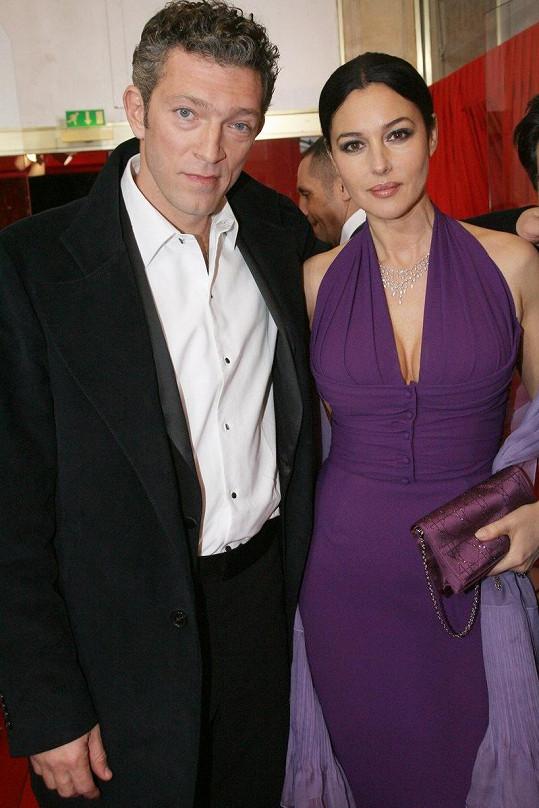 Vincent Cassel byl 14 let manželem Monici Bellucci.