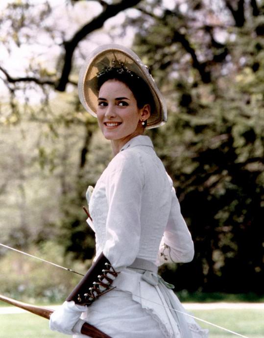Winona Ryder ve svém nejslavnějším filmu Věk nevinnosti (1993), za který získala Zlatý glóbus a nominaci na Oscara.