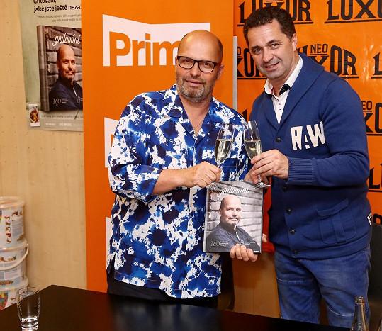 Dejdar se stal kmotrem Pohlreichovy nové knihy.