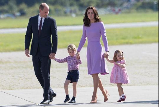 Tato rodinka bude příští rok pětičlenná.