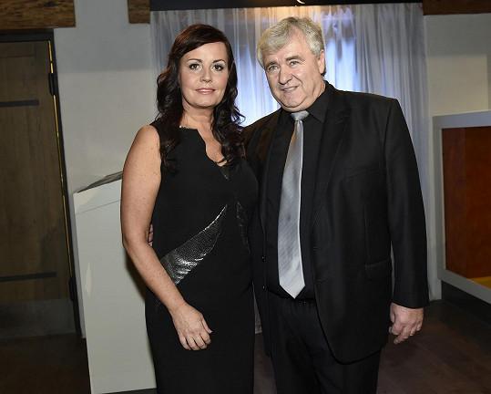 S manželem Vaškem, s nímž tvoří legendární duo.