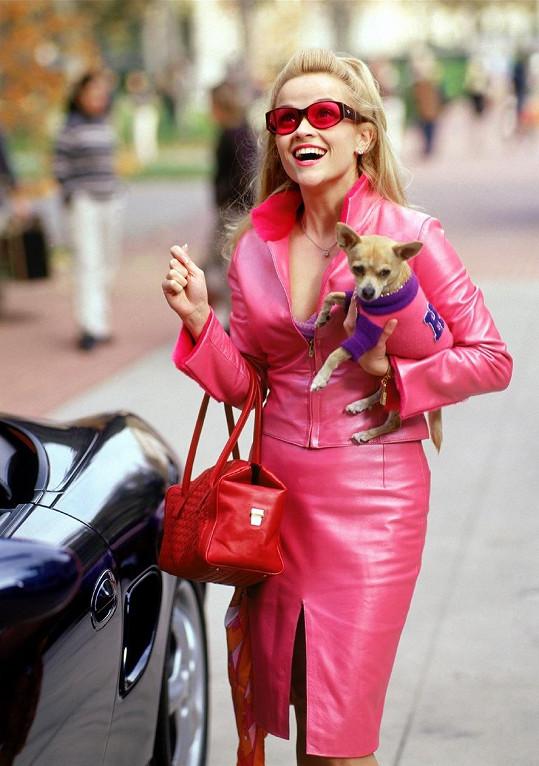 Reese Witherspoon ve filmu Pravá blondýnka (2001)