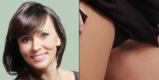 Heidi Janků se pochlubila kalhotkami.