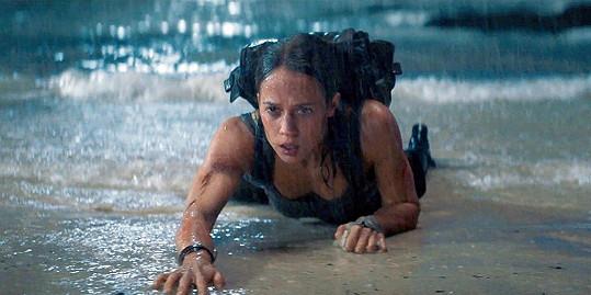 Alicia jako nová Lara Croft