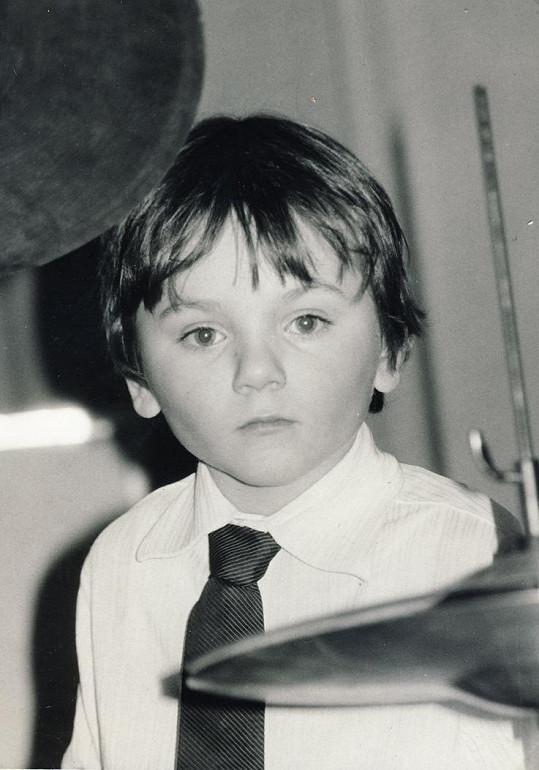 Josef Melen v dětství